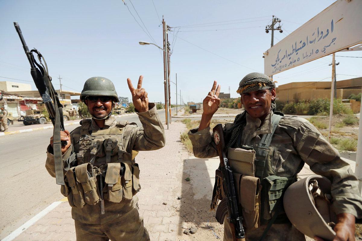 ISの拠点、ファルージャ解放 イラク軍、いよいよモスルに