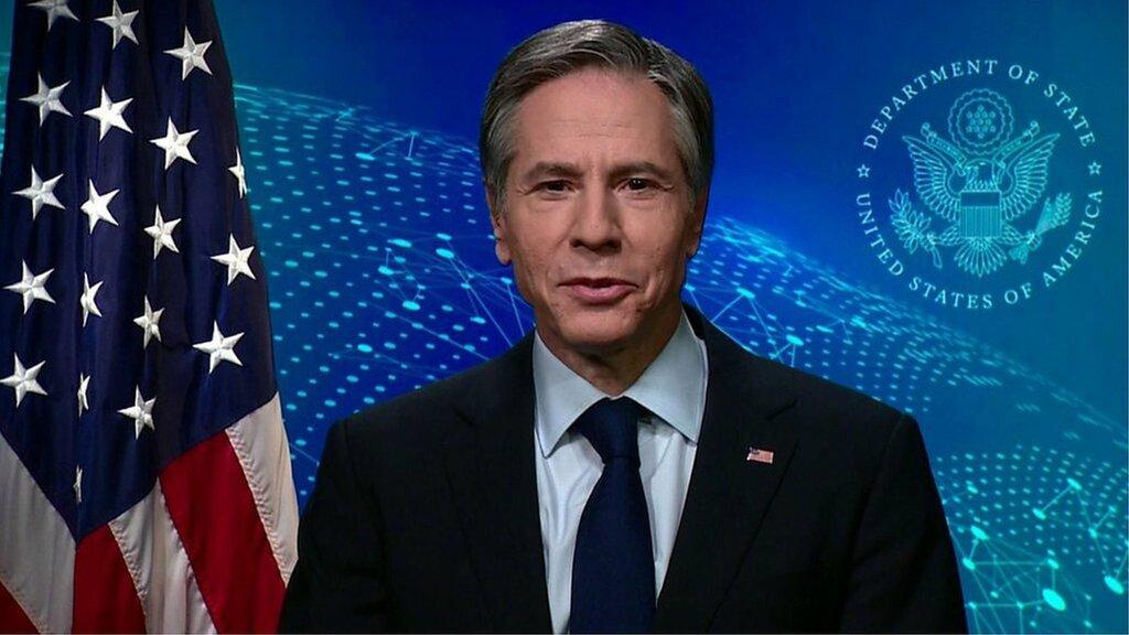 アメリカは「世界と関わっていく」とブリンケン米国務長官 BBCインタビューで