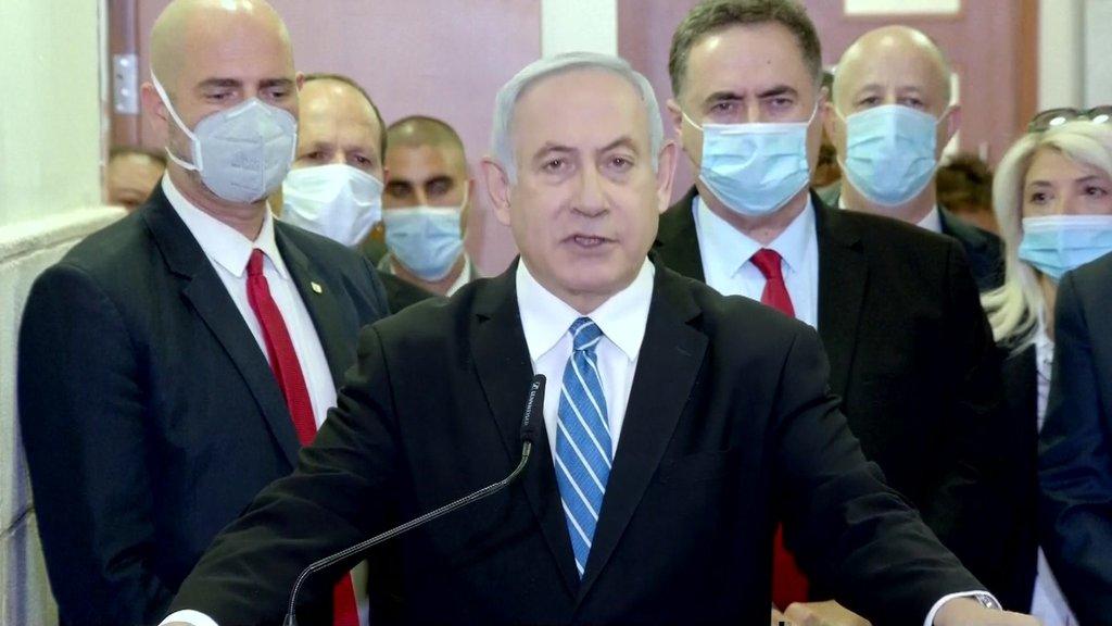 イスラエルのネタニヤフ首相、収賄罪などの初公判に出廷 WEDGE ...
