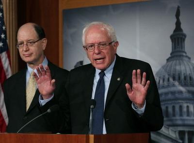 バーニー・サンダース氏(画像:Getty Images News) サンダース氏はもともと無所属