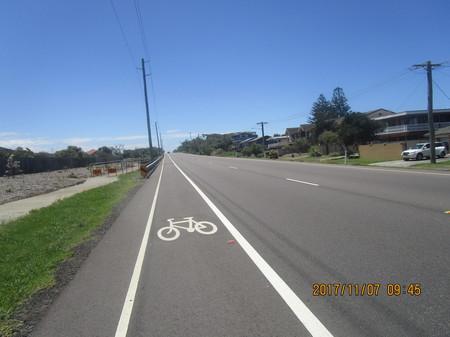 オーストラリアの幹線道路